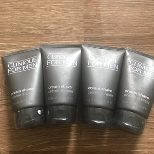 Lot of 4 Clinique cream shape full size